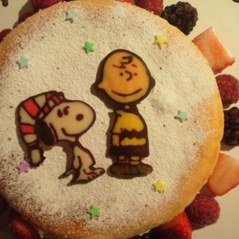 スヌーピーのケーキサムネイル