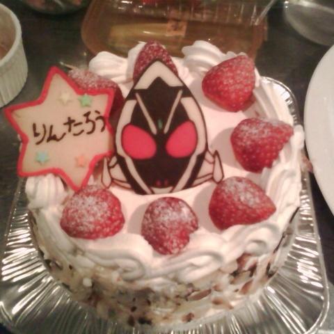 仮面ライダーフォーゼのケーキサムネイル