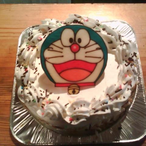 ドラえもんのケーキサムネイル