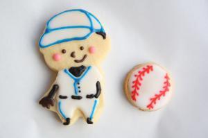野球の男の子