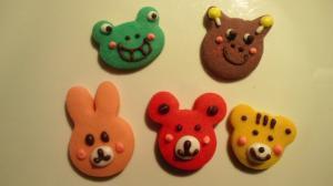 5色の動物さんセット