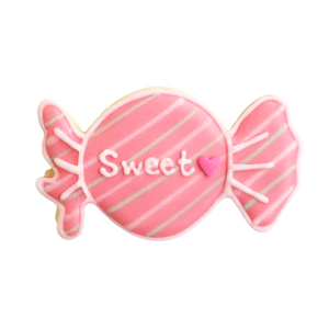 ピンクのキャンディー