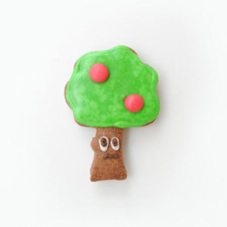 木クッキー