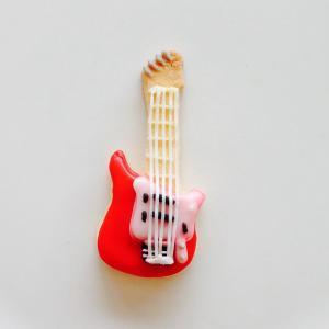 エレキギター*赤