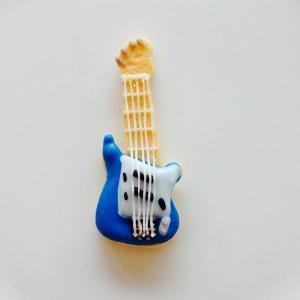 エレキギター*青