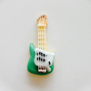 エレキギター*緑
