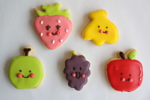 5色のフルーツセット