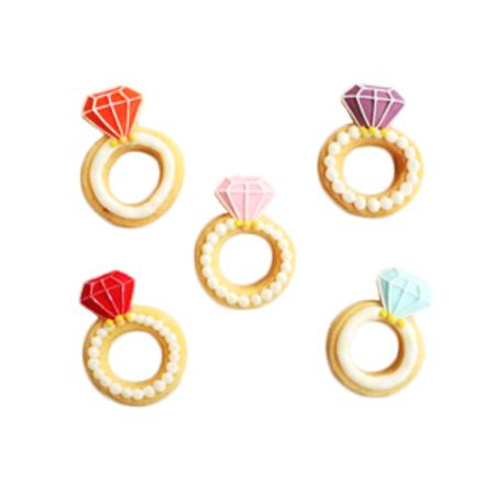 指輪のクッキーセット