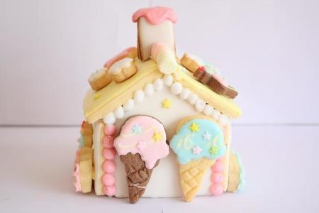 パステルアイシングのお菓子の家☆