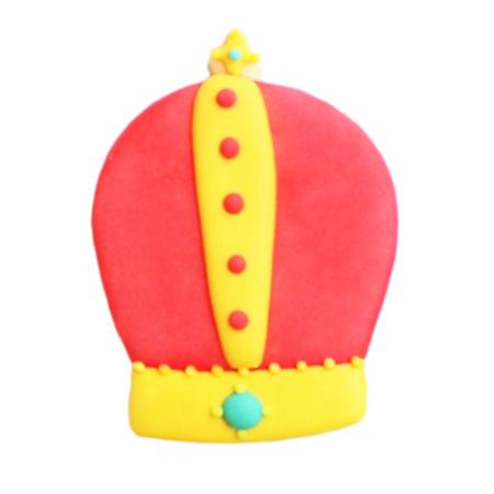 王冠のクッキー