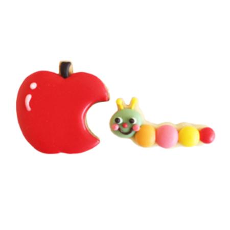 いもむしとりんご