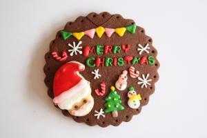 サンタさんのクリスマスプレート